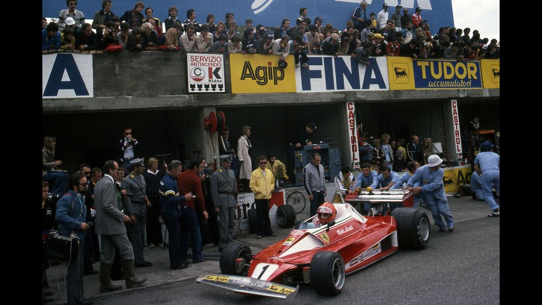 Niki Lauda - Ferrari 312T2 - Mauro Forghieri - Monza 1976