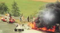 Niki Lauda - Feuer Unfall auf der Nordschleife