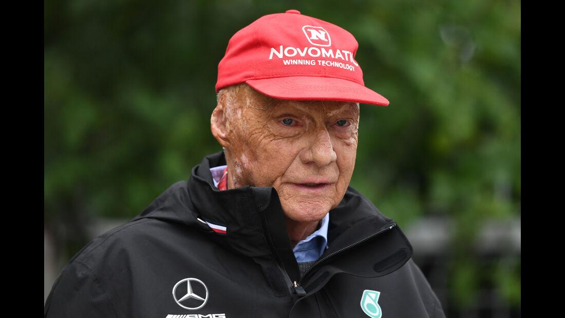 Niki Lauda - Formel 1 - GP China - Shanghai - 14. April 2018