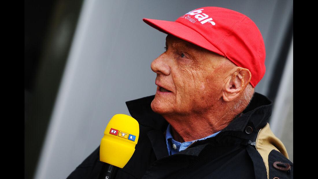 Niki Lauda - Formel 1 - GP Kanada - 8. Juni 2013