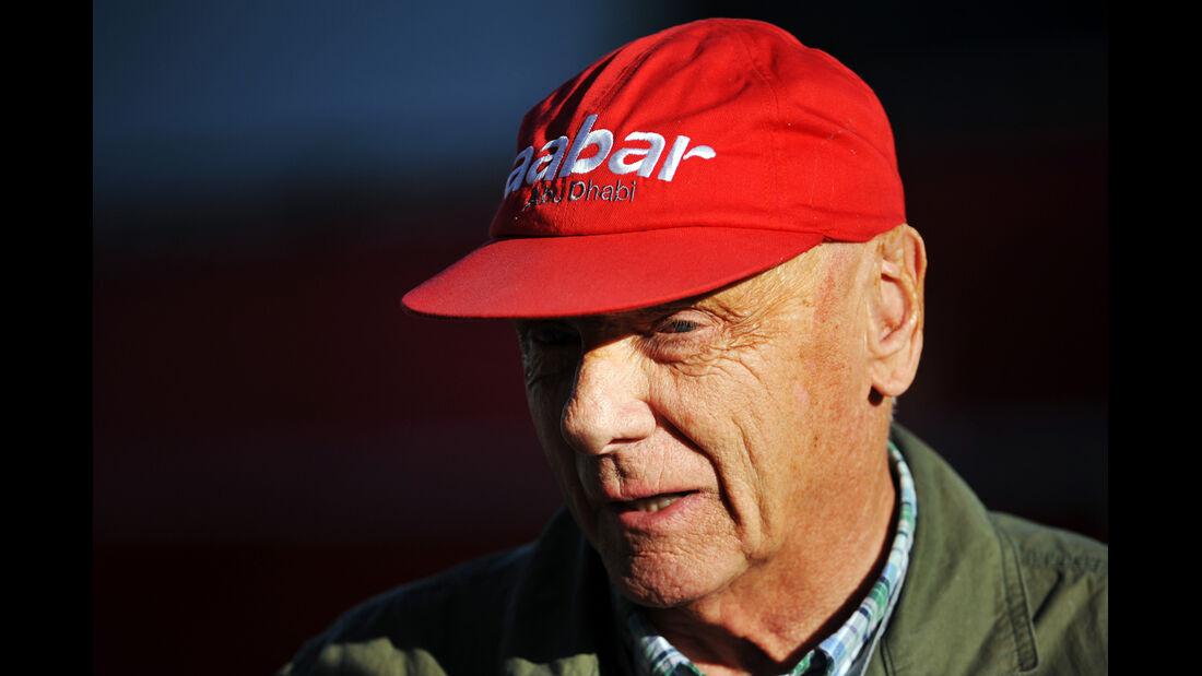 Niki Lauda - Formel 1 - GP USA - Austin - 16. November 2012