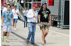 Niki Lauda - Formel 1 - GP Ungarn - 26. Juli 2014