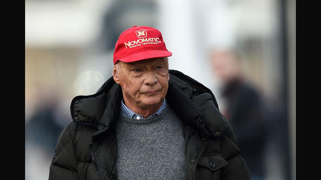 Niki Lauda - Formel 1-Test - Barcelona - 24. Februar 2016