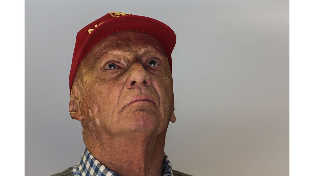 Niki Lauda - Formel 1 - Test - Barcelona - 8. März 2017