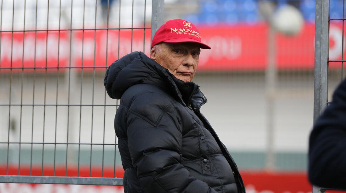 Niki Lauda - Formel 1 - Test - Jerez - 28. Januar 2014