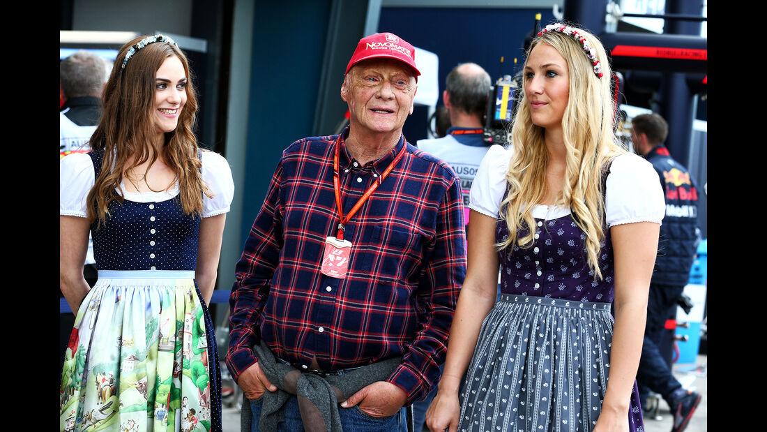 Niki Lauda - GP Australien - Melbourne - 25. März 2017