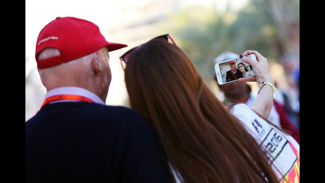 Niki Lauda - GP Bahrain 2016