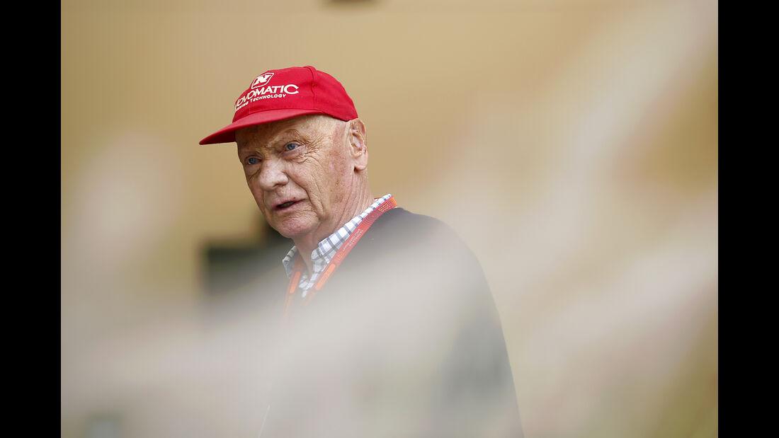 Niki Lauda - GP Bahrain - Formel 1 - 1. April 2016