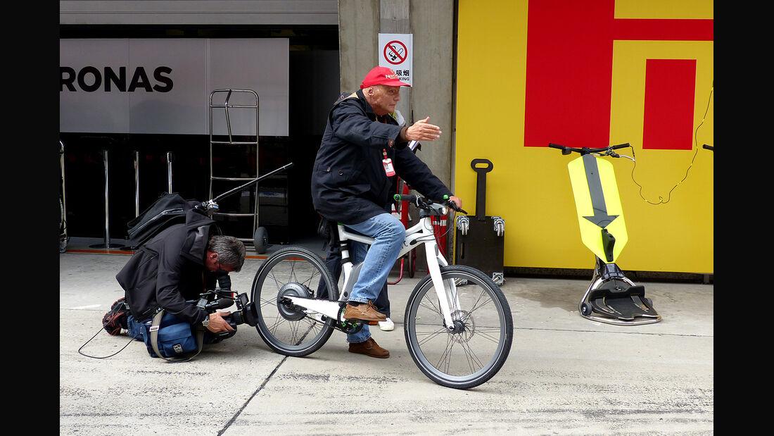 Niki Lauda - GP China 2014