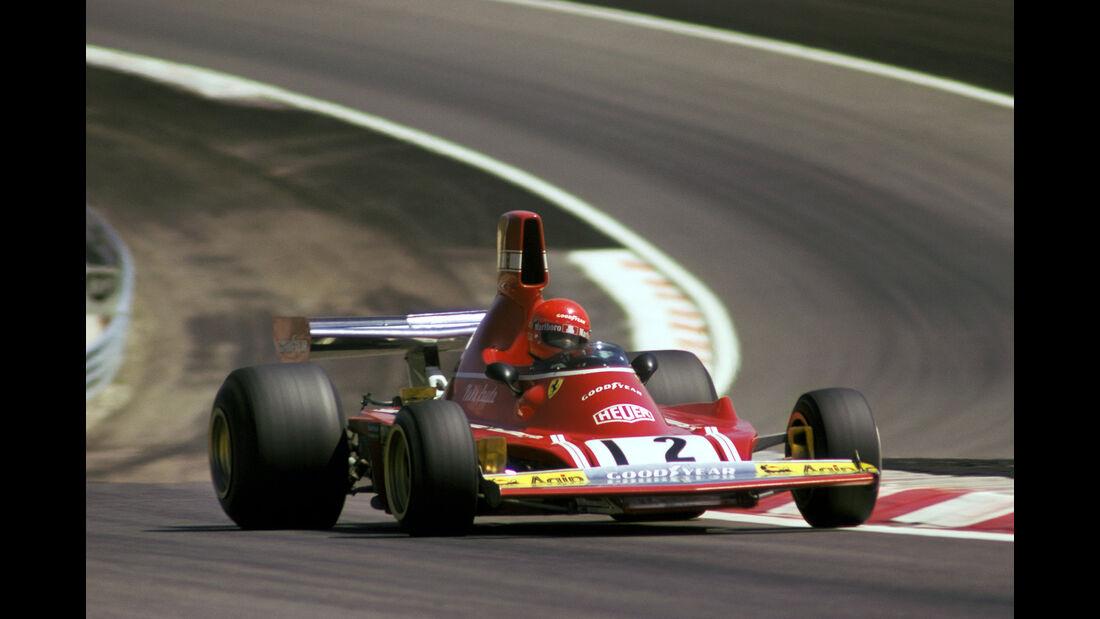 Niki Lauda - GP Frankreich 1974