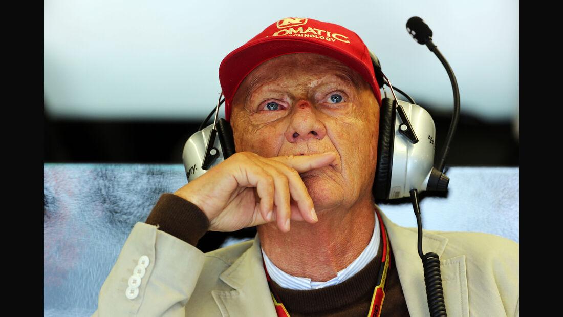 Niki Lauda - GP Kanada 2014
