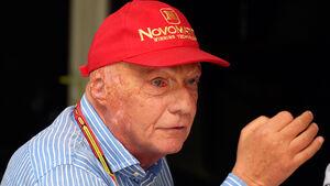Niki Lauda - GP Malaysia 2014