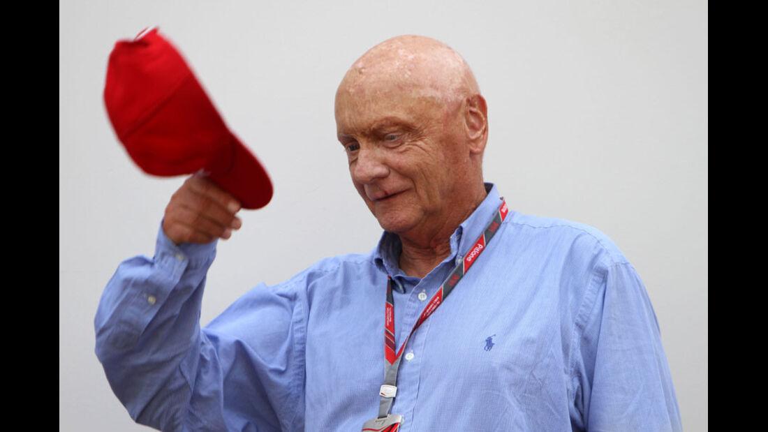 Niki Lauda - GP Singapur - 24. September 2011