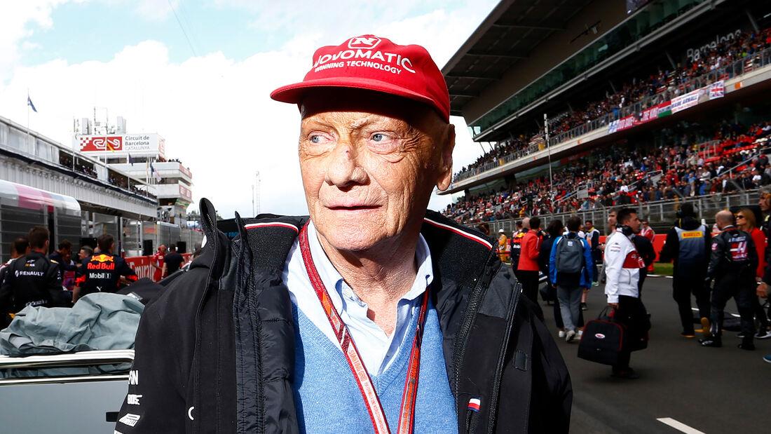 Niki Lauda - GP Spanien 2018
