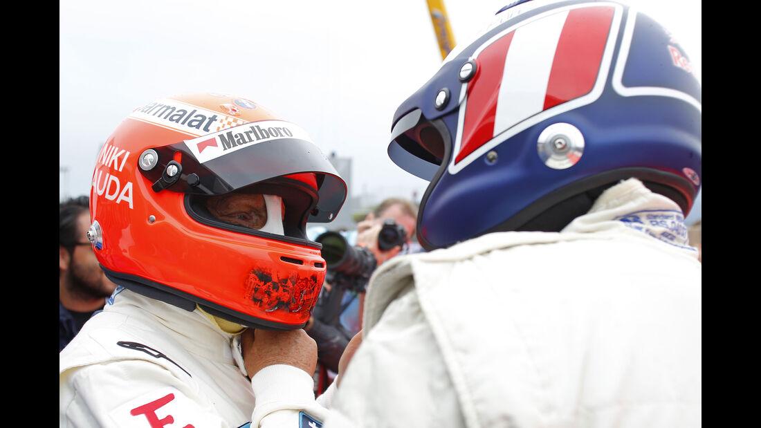 Niki Lauda - Gerhard Berger - Formel 1 - GP Österreich - 3. Juli 2016