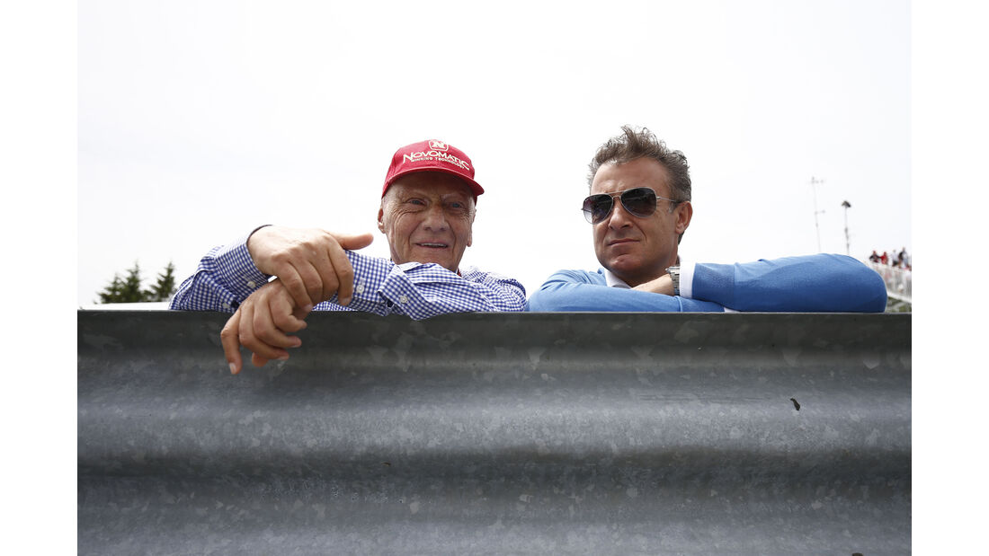 Niki Lauda & Jean Alesi - GP Kanada 2015