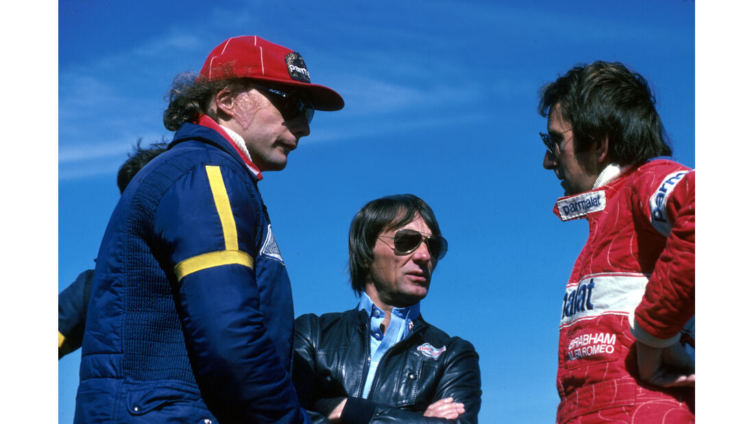 Niki Lauda John Watson 1978