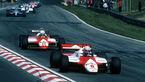 Niki Lauda - McLaren-Ford MP4-1B - Andrea de Cesaris - Alfa Romeo 182 - GP Belgien 1982 - Zolder