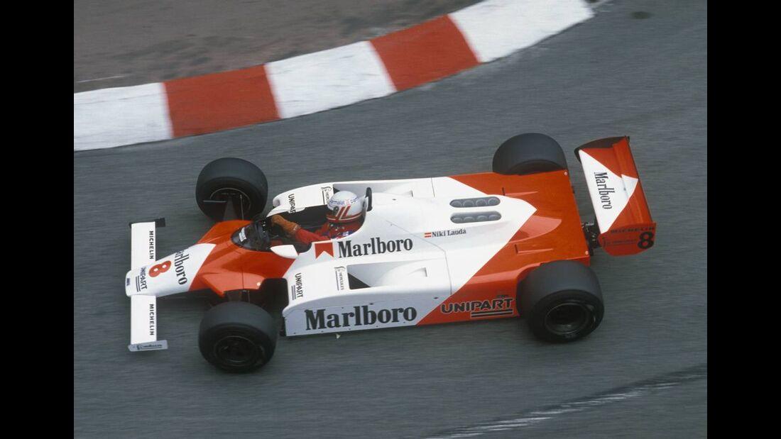 Niki Lauda McLaren MP4/1B 1982