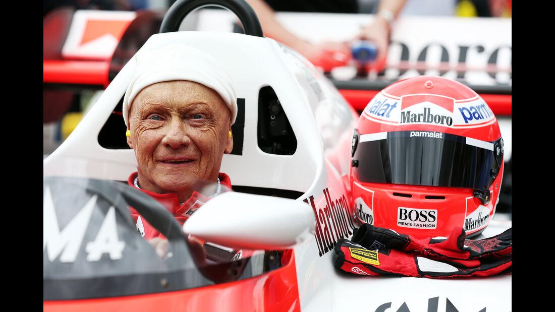Niki Lauda - McLaren MP4/2