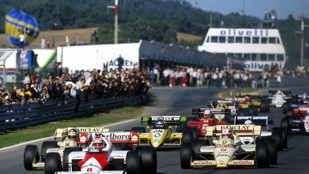 Niki Lauda - McLaren MP4-2 - GP Portugal 1984
