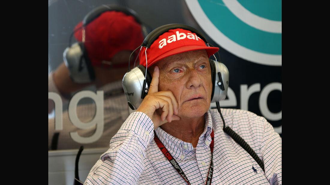 Niki Lauda - Mercedes - 2014