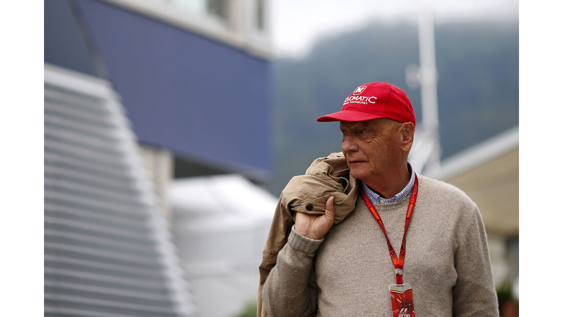 Niki Lauda - Mercedes - Formel 1 - GP Österreich - 1. Juli 2016