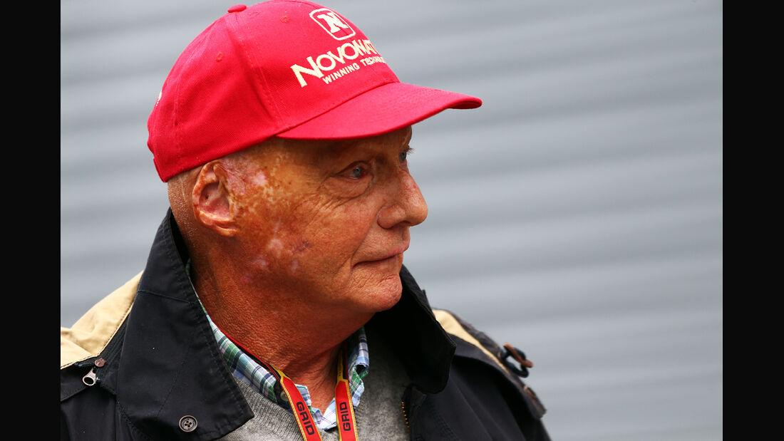 Niki Lauda - Mercedes - Formel 1 - GP Österreich - Spielberg - 20. Juni 2014