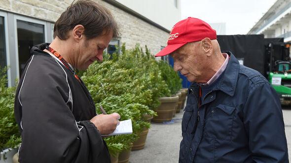Niki Lauda & Michael Schmidt