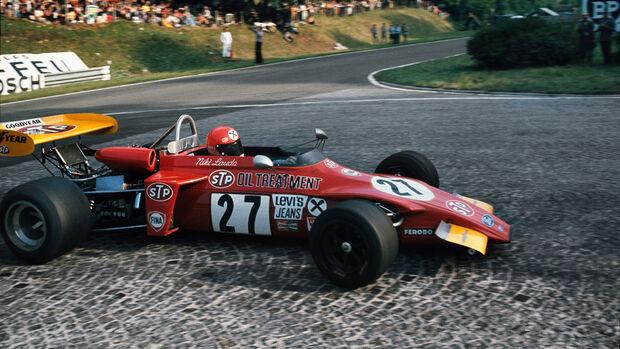 Niki Lauda - Rouen - Formel 1 - GP Frankreich 1972