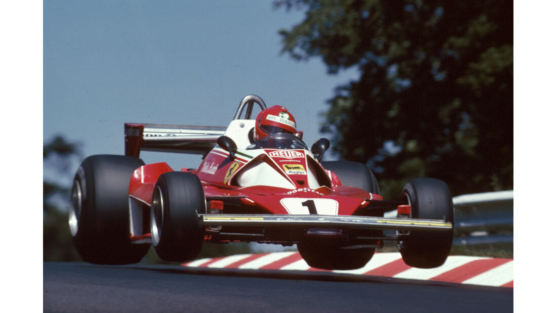 Niki Lauda Sprung
