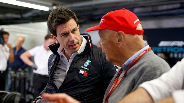 Niki Lauda & Toto Wolff - GP Kanada 2018
