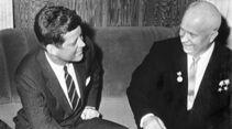 Nikita Chruschtschow Präsident Kennedy Wien 1961