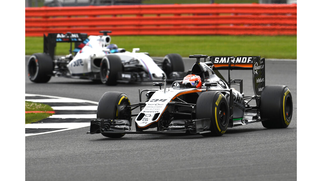 Nikita Mazepin - Force India - F1-Test - Silverstone - 13. Juli 2016