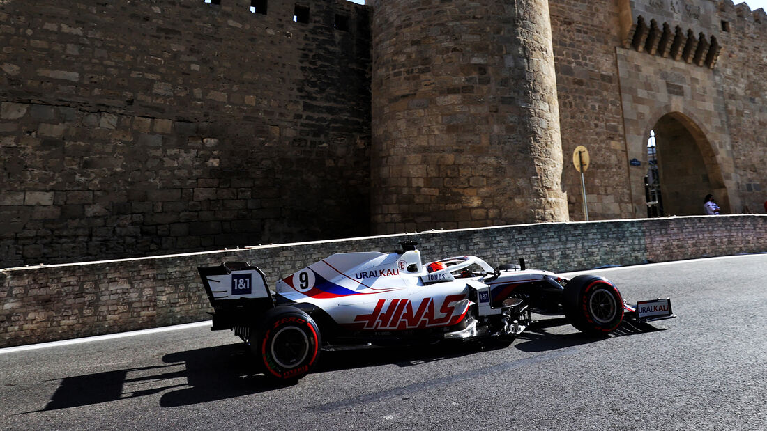 Nikita Mazepin - Formel 1 - GP Aserbaidschan 2021