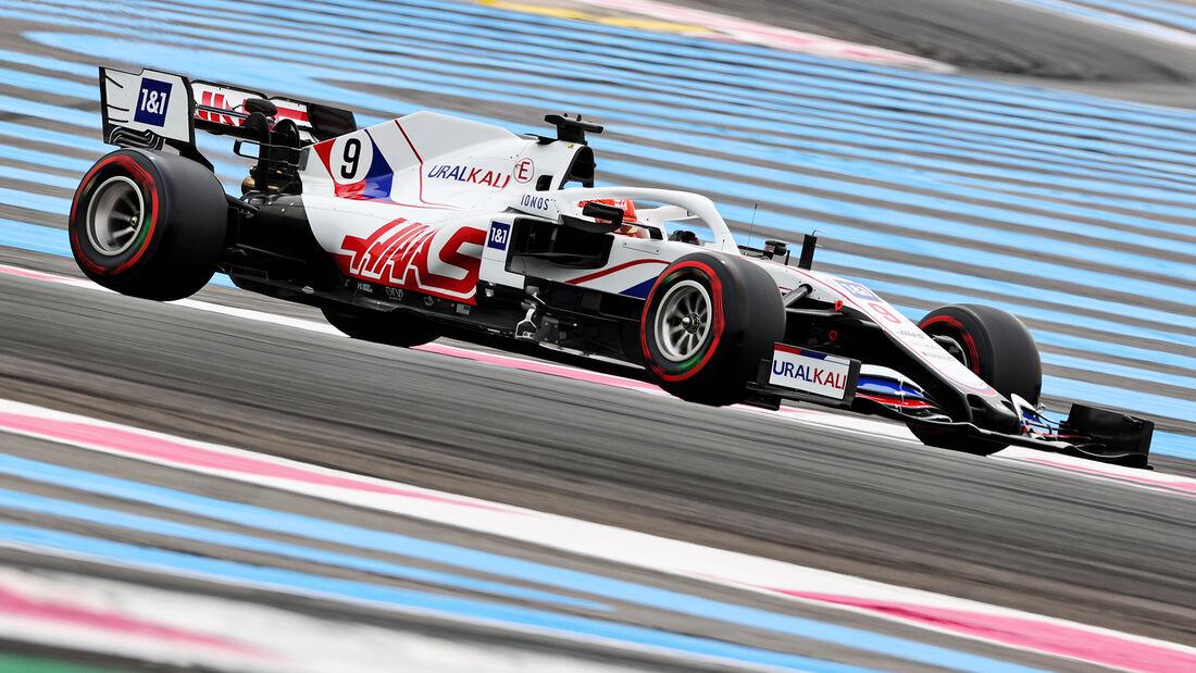 Nikita Mazepin - Formel 1 - GP Frankreich 2021