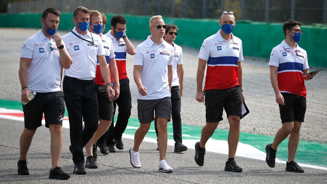 Nikita Mazepin - Formel 1 - GP Italien - Monza - 9. September  2021