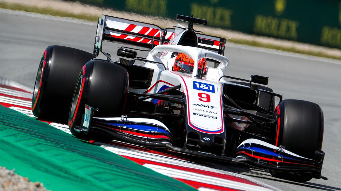 Nikita Mazepin - Formel 1 - GP Spanien 2021