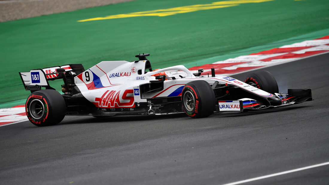 Nikita Mazepin - Formel 1 - GP Türkei - Istanbul - 2021