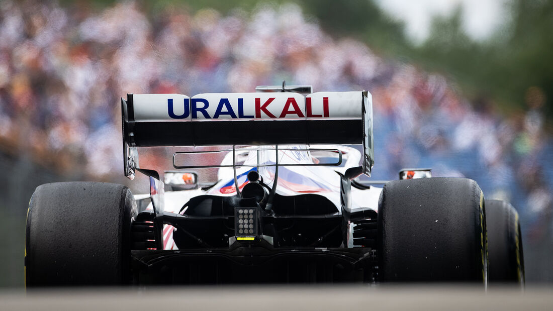 Nikita Mazepin - Formel 1 - GP Ungarn 2021