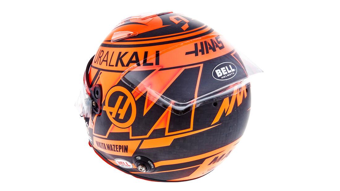 Nikita Mazepin - Formel 1 - Helm - 2021