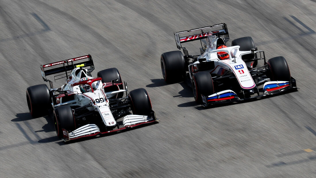 Nikita Mazepin - Formel 1  - Imola - GP Emilia Romagna 2021