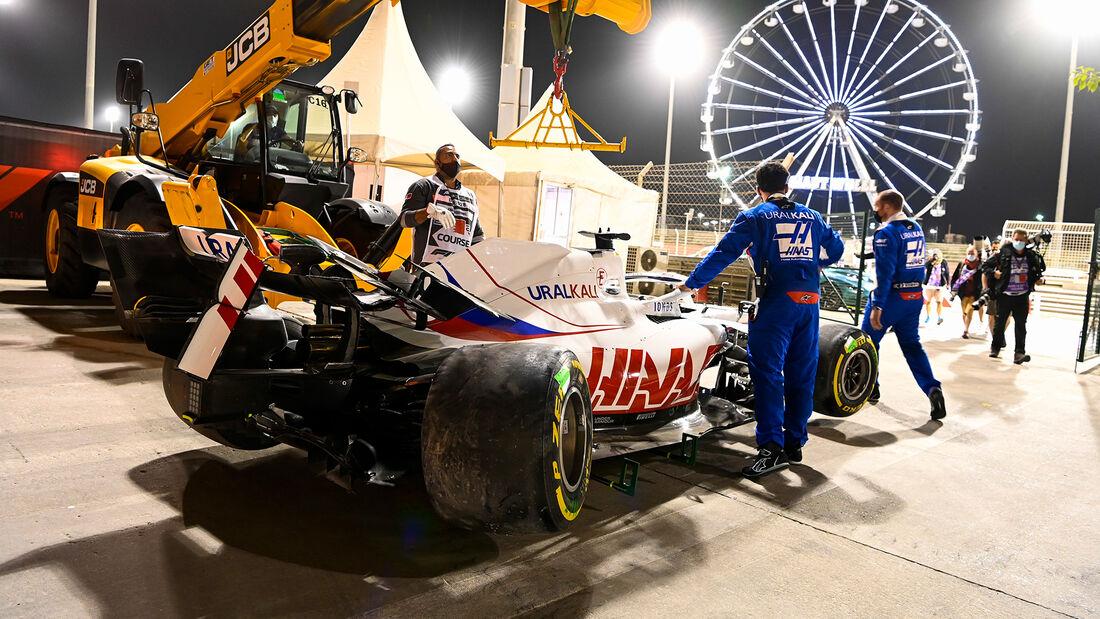 Nikita Mazepin - Haas - Formel 1 - GP Bahrain 2021 - Rennen