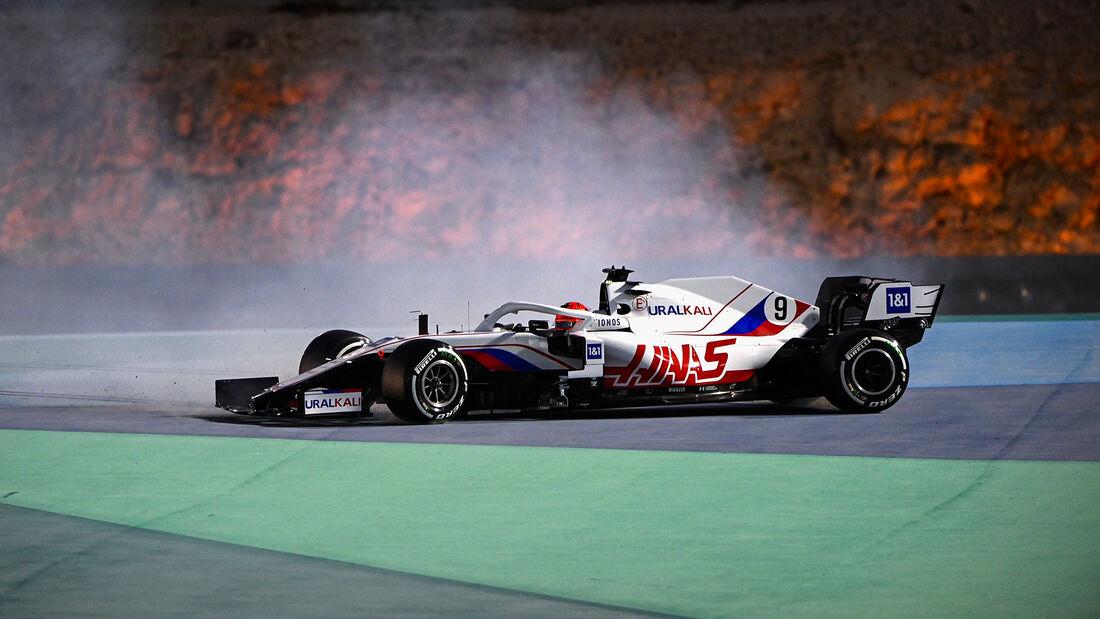 Nikita Mazepin - Haas - Formel 1 - GP Bahrain - Freitag - 26.3.2021