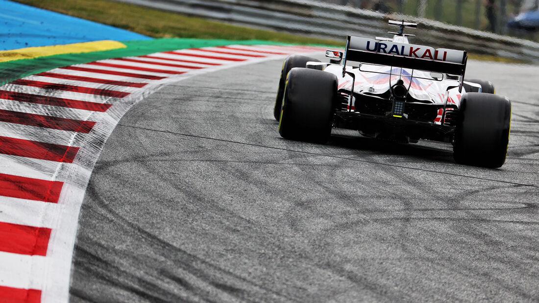 Nikita Mazepin - Haas - Formel 1 - GP Österreich - Spielberg - Freitag - 2.7.2021