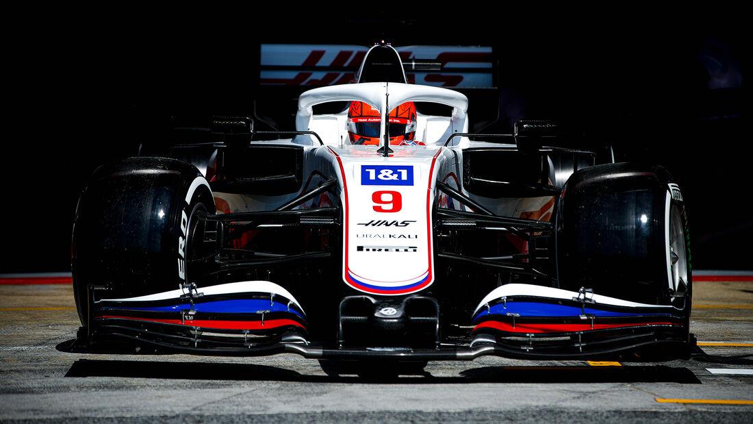 Nikita Mazepin - Haas - Formel 1 - GP Spanien - 7. Mai 2020