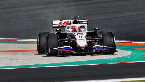 Nikita Mazepin - Haas - Formel 1 - GP Türkei - Istanbul - 8. Oktober 2021