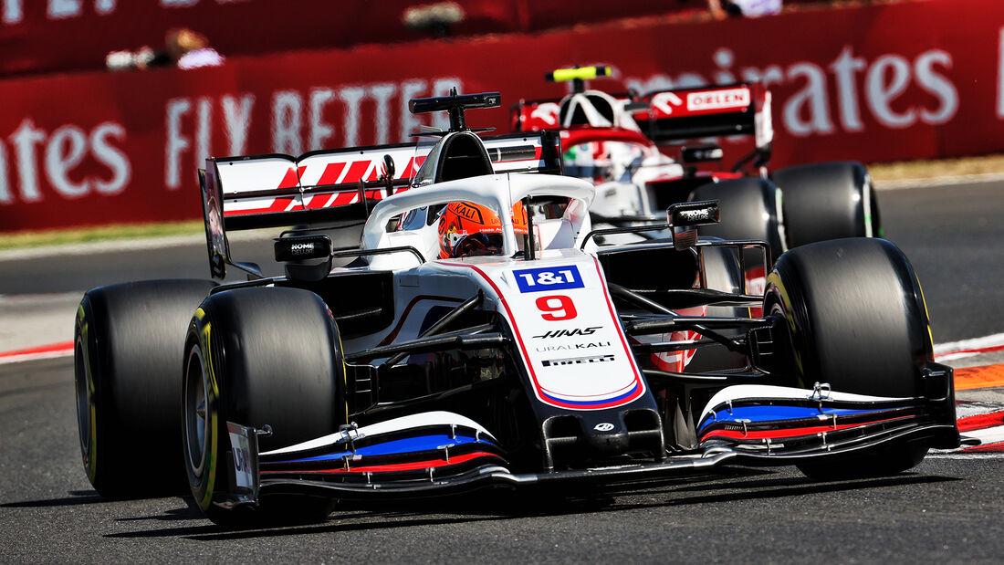 Nikita Mazepin - Haas - Formel 1 - GP Ungarn - Budapest - Freitag - 30. Juli 2021