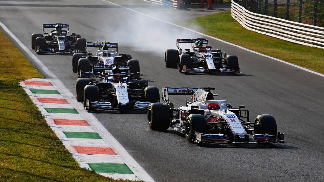 Nikita Mazepin - Haas - Formel 1 - Monza - GP Italien - 11. September 2021