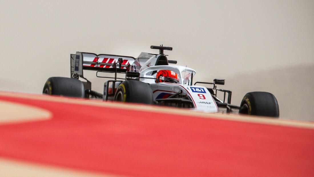 Nikita Mazepin - Haas - Formel 1 - Test - Bahrain - 13. März 2021